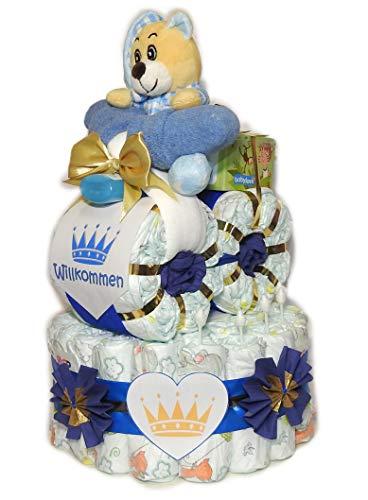 Pañales para tartas con moto-Prinz con oso-Pañales Moto