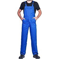 Salopettes de travail pour hommes,bleu. Un produit avec un rapport exceptionnel prix/qualité - Bleu - Taille S/W32