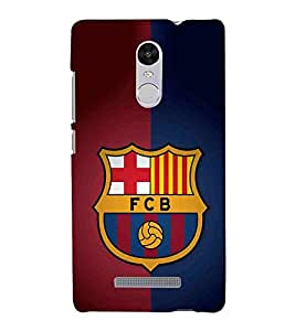 For Xiaomi Redmi Note 3 :: Xiaomi Redmi Note 3 Pro :: Xiaomi Redmi Note 3 MediaTek yellow icon, icon, red blue blackground Designer Printed High Quality Smooth Matte Protective Mobile Case Back Pouch Cover by APEX