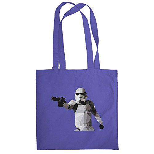 Texlab–Poly Gun Trooper–sacchetto di stoffa Marine