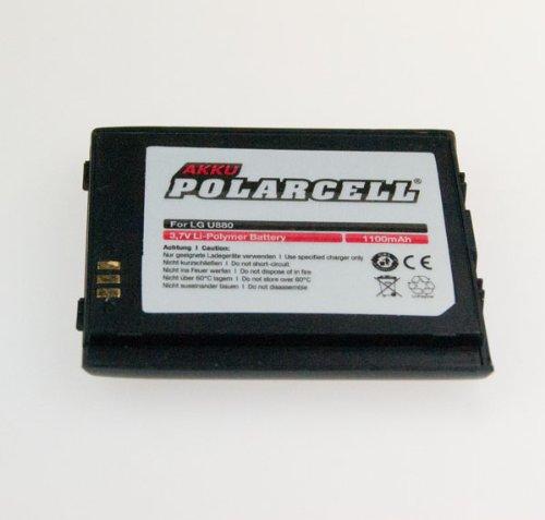 NFE² Edition Polarcell Lithium-Polymer Akku - 1100mAh - für LG U880 und U8500 black