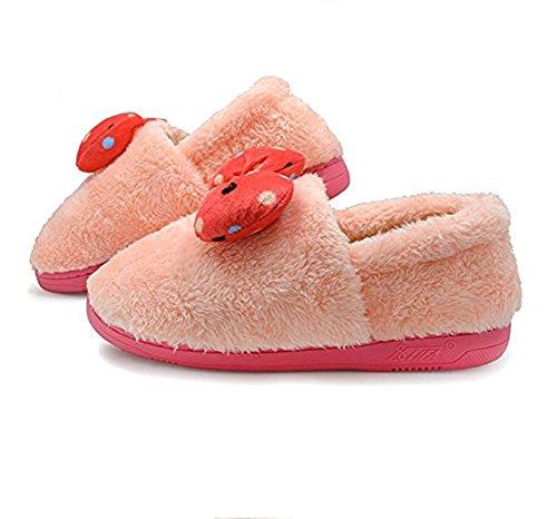 Polliwoo Caldi Comodo intimo peluche ripiene Pantofole indoor Carino Velvet Casa invernale Boots