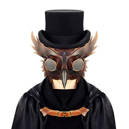 LLU Steampunk Pest Schnabel Maske Halloween Bar - Tanz Bird Kostüm