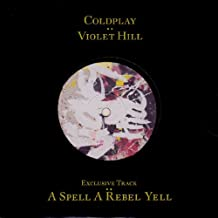 "Coldplay Violet Hill Promo Only 7"" Die-cut picture sleeve NME UK 45 7"" sgl"