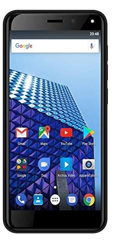 Archos 503760 Access 50S 4G 8Gb SIM-Lock frei (5 Zoll Display - 2/5MP - Dual-SIM - Android 7.0 Nougat) Schwarz Archos Multimedia