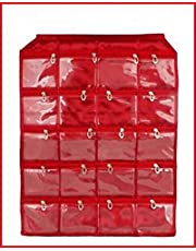 Kuber Industries Satin Make up Accessories Wall Hanging