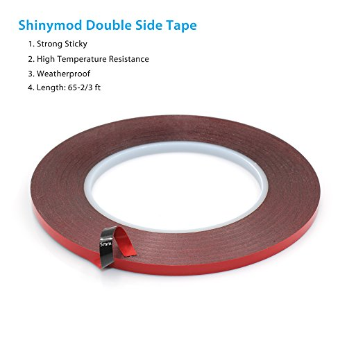 shinymod-special-acrylic-adhesive-sticker-double-sided-foam-tape-industrial-strength-shockproof-weat