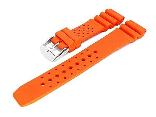 Meyhofer Uhrenarmband Atlantis 16mm orange Kautschuk MyBnskb01/16mm/orange/oN - Atlantis