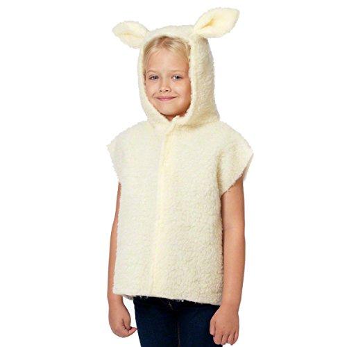 Lamm Kostüm für Kinder. 3-9 Jahre.