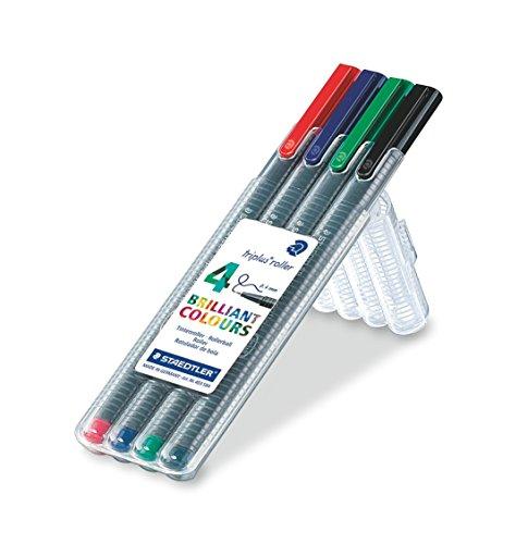 STAEDTLER 403 SB4 – Pack de 4 bolígrafos