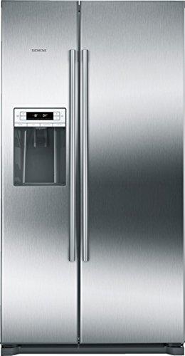 Siemens KA90DVI30 iQ500 Side-by-Side / A++ / 177,00 cm Höhe / 341 kWh/Jahr / l Kühlteil / 163l Gefrierteil / No Frost / LED-Beleuchtung / edelstahl