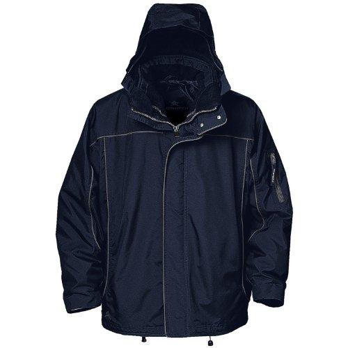 Preisvergleich Produktbild Stormtech Nova storm shell jacket XR-system (40), Marineblau/Granite, XXL