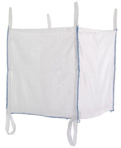 Preisvergleich Produktbild Big Bag 90x90x90 cm mit 6 Schlaufen, 5000 KG Bruchlast DIN EN ISO 21898