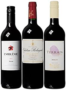 Fine Wine Sellers French Red Mixed Case 75 cl (Case of 3)