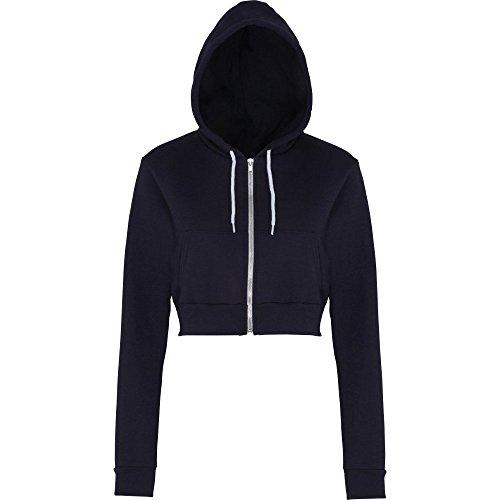 american-apparel-womens-ladies-flex-fleece-polycotton-crop-hoodie