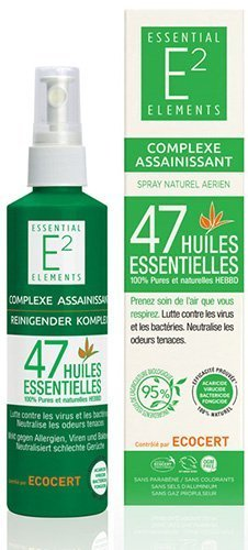 Complejo purificador con 47 aceites esenciales 100% ORGANICO vegan