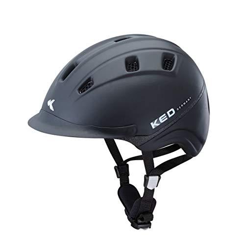 KED Reithelm Basco L Black Matt 55-60 cm - 16553071L
