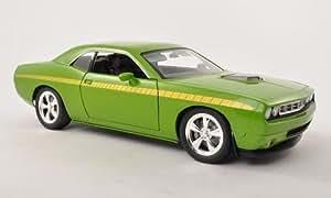 Plymouth Cuda concept Car, vert/jaune, 0, voiture miniature, Miniature déjà montée, autoroute 61 1:18