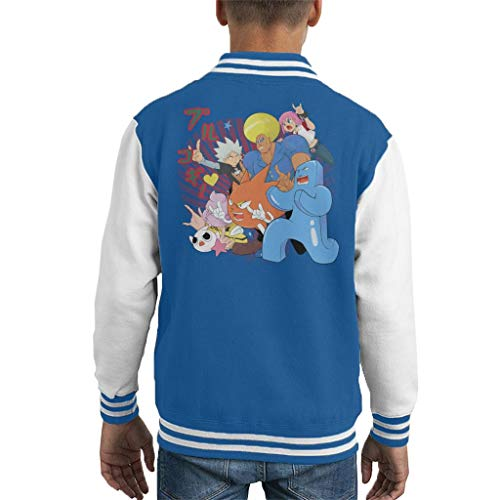 Cloud City 7 Supra Prukogi Kid's Varsity Jacket Varsity Jacke Patches