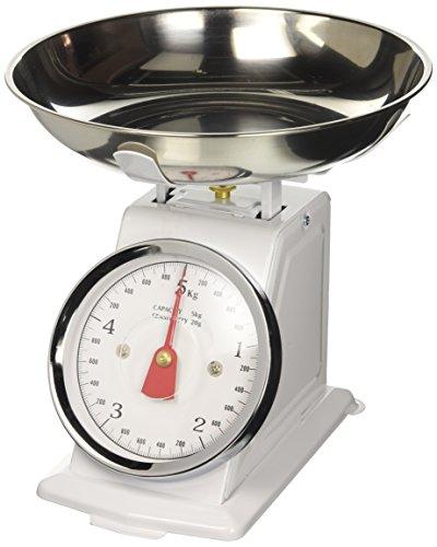 Newsbenessere.com 41PN0svDP1L Borella Casalinghi Alessia Bilancia da Cucina Meccanica 5 kg, Alluminio, Colori assortiti, 1 pezzo