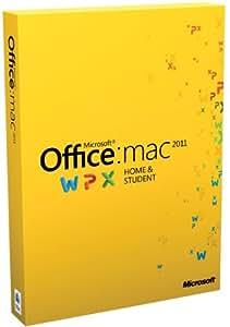 Office für Mac 2011 Home & Student (1 Pack / englisch)