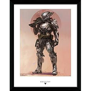 Destiny – Titan gerahmtes Poster