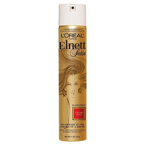 Loreal Elnett Satin (L'Oreal Paris Elnett Satin Hairspray Strong Hold 310g (Haarstyling/Sprays))