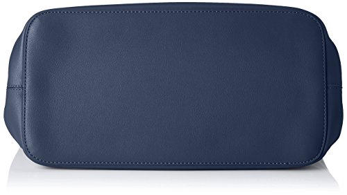 PIECES Damen Pcillu Shopper Schultertasche, 18x31x44 cm Blau (BERING SEA)