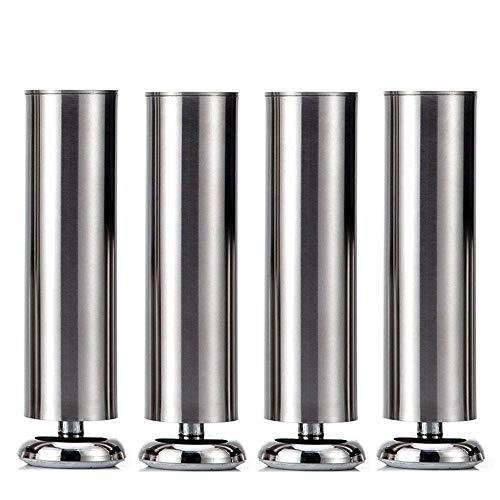 4 x Qrity Schrank Beine Küche Füße Arbeitsplatte / Einheit / Frühstück Bar / Schreibtisch...