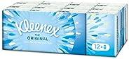 Kleenex Mouchoirs mini extra doux et résistant - Les 12 étuis de 7 mouchoirs