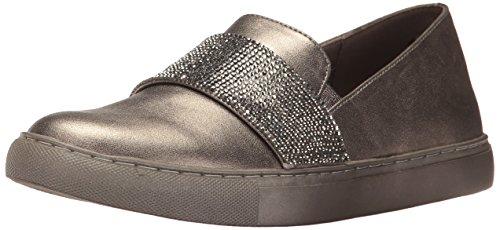 Kenneth Cole REACTION Women's Kam Slip Mini Jewel Strap Accent Metallic Fashion Sneaker