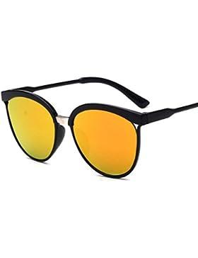 Winwintom Hombres Mujeres Plaza Deportes al aire libre gafas de sol de espejo Vintage
