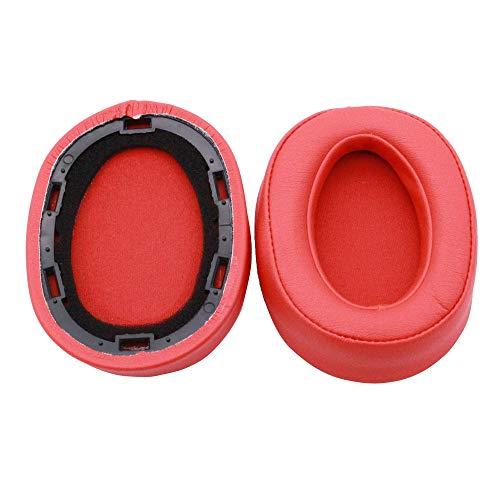 Altsommer Ersatz Ohrpolster, Ohrpolster Schaum Kissen Kit Kopfhörer Zubehör für Sony MDR100ABN WH-H900N Kopfhörer Ohrhörer - Schwarz