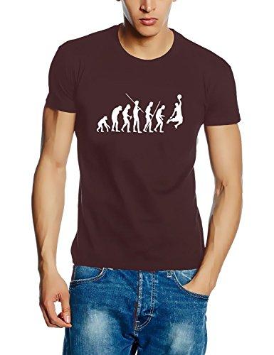 BASKETBALL - Evolution ! T-Shirt braun Gr.L