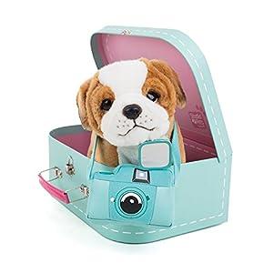 Studio Pets- Perro de Peluche en maletín (6208)