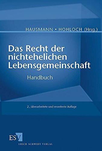 Das Recht der nichtehelichen Lebensgemeinschaft: Handbuch