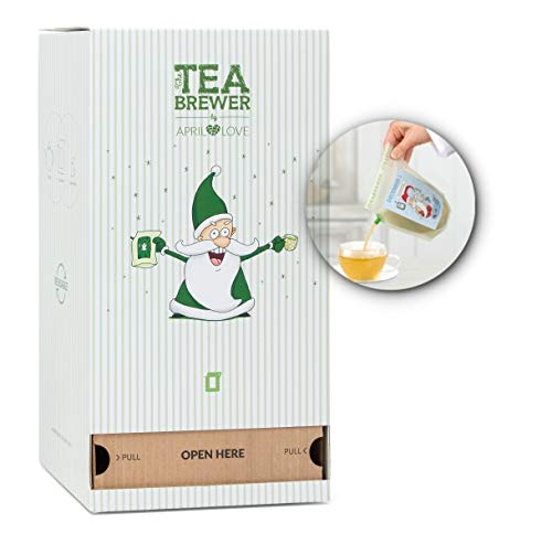 Tea Lover Advent Calendar with Organic Specialty Tea Tastes, Each Day New Experience