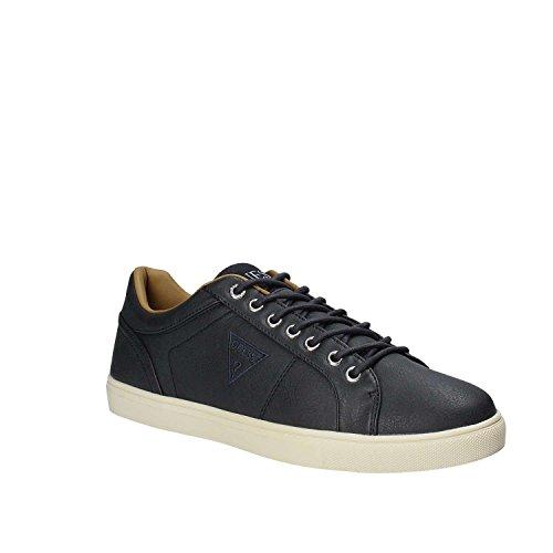 Guess Lex, Sneaker a Collo Basso Uomo Blu (Deep)