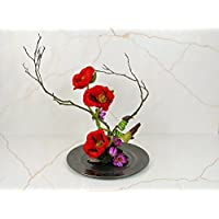 Blumendekoration Klatschmohn, Mohnblumen,Tischdekoration