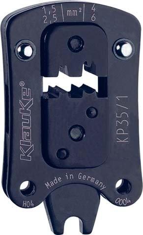 KLAUKE Press testa PC 35/11,5-6qmm, rundpres. pressw erkzeug Scarpe cavo/connettore, puntali, paralume attacco