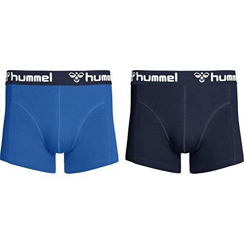 hummel Herren HMLMARS 2 Boxers, Nebulas Blau/Total Eclipse, M