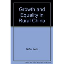 Growth and Equality in Rural China