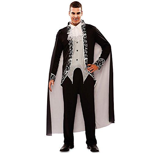 n Kostüm Vampir Matt Gr. M/L Fledermaus Halloween Gothic Dracula Karneval ()