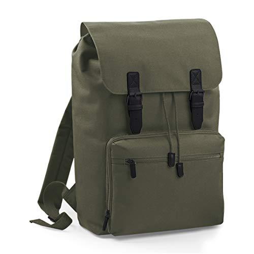 Vintage Rucksack für Damen und Herren mit Laptop-Fach (17