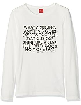 s.Oliver 73.708.31.7251, Camiseta de Manga Larga para Niñas