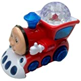 Light Train With 3D Light And Music Toy (Red)