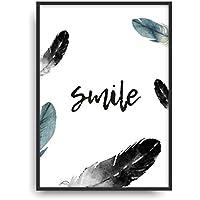 Kunstdruck SMILE Fine Art Poster