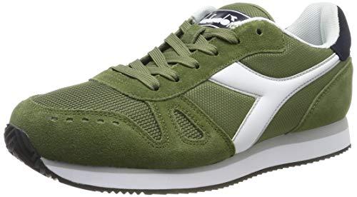 Diadora Simple Run, Scarpe Sportive Uomo, (Verde Loden 70399), 44 EU