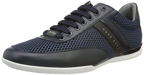 BOSS Green Herren Space Lowp air Sneaker, blau, 43 EU