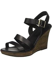 Timberland Damen Cassanna Y-Strap Sandaljet Black Swank Knöchelriemchen